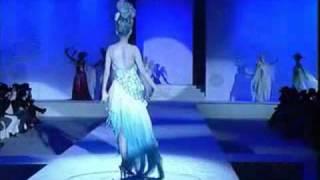 2009 毛戈平聖心魔域發表會第一章聖心天使誇張造型罕見稀有舞台彩妝發表...
