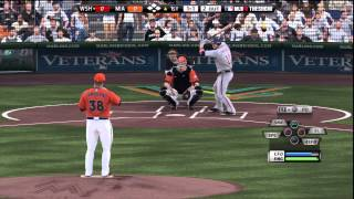 (PS3) MLB 12 The Show - Nationals at Marlins [1st Inning]
