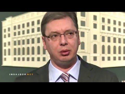 Aleksandar Vučić o medijima