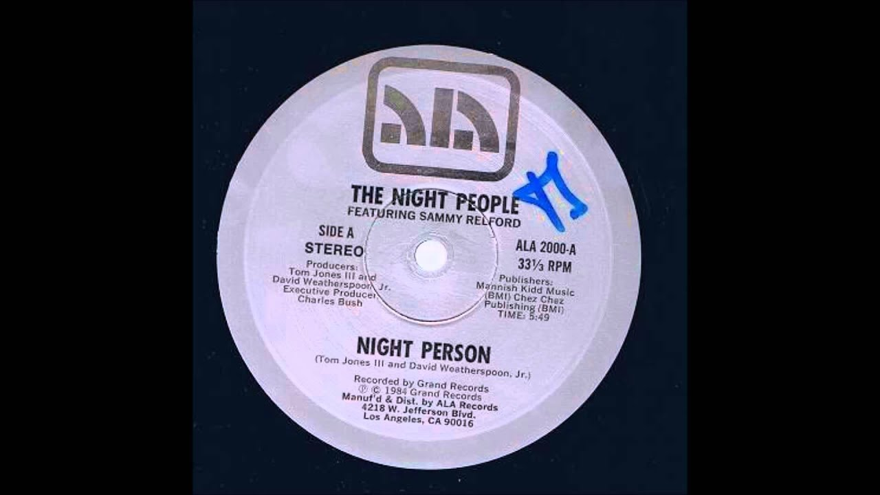 The Night People - Night Person - YouTube