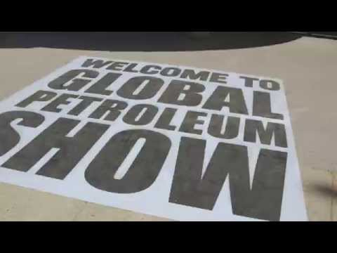 The Global Petroleum Show in 30 seconds