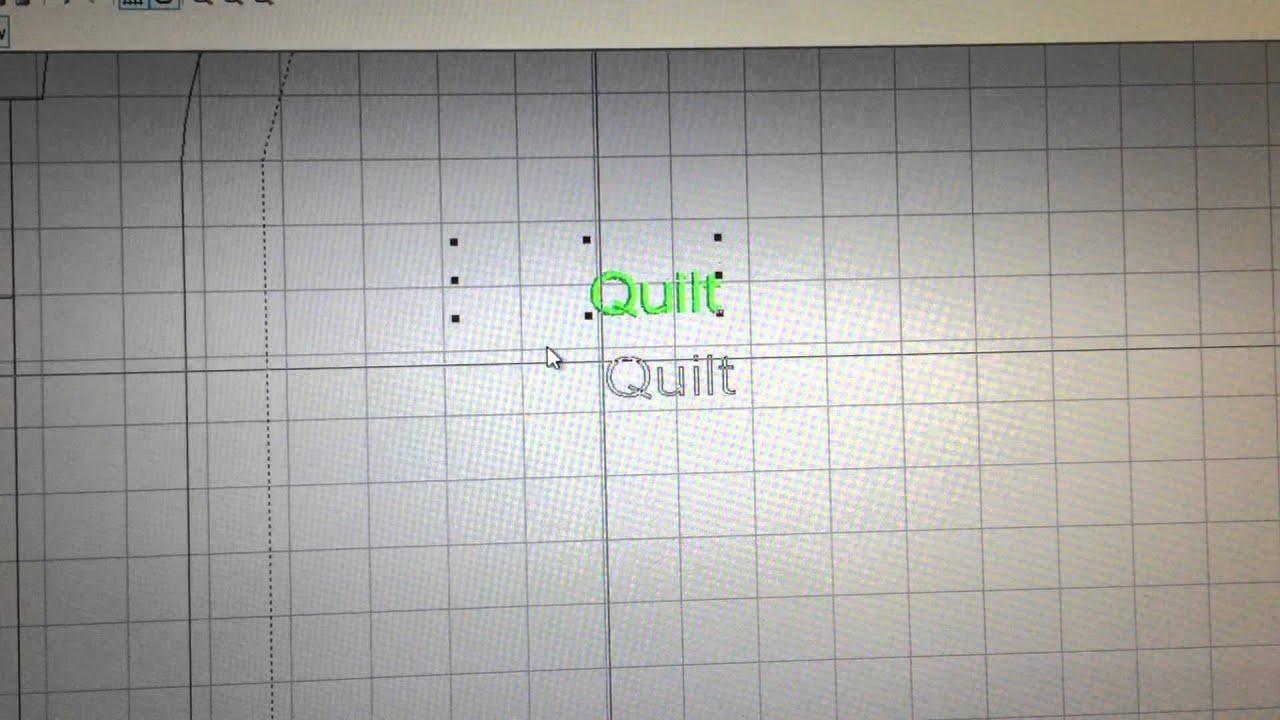 Berninas Art Design V1 Making A Text Design Youtube