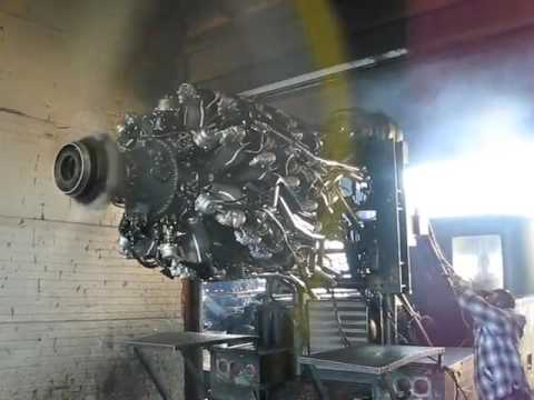 Pratt & Whitney R 4360 20 first start