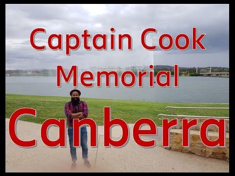Captain James Cook Memorial, Canberra