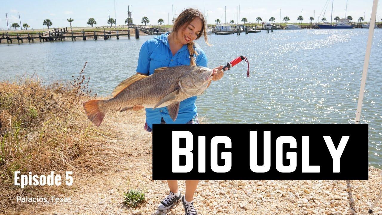 Ep 5 outdoor lipstick matagorda fishing big ugly for Big 5 fishing
