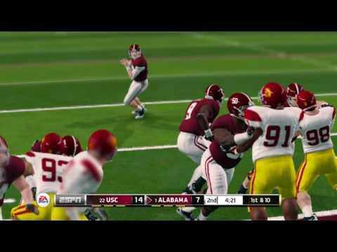NCAA Football 14 Season 2016-2017 USC Trojans vs Alabama Crimson Tide