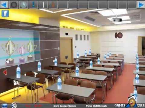 Conference Hall Escape Video Walkthrough