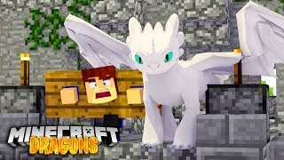 SCUBA STEVE'S LIFE is in DANGER! - Minecraft Dragons