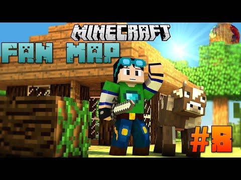 Minecraft | CUỘC PHIÊU LƯU CỦA JACK!!! | Chơi Map Các Bạn Gửi :) #8 [1.8]