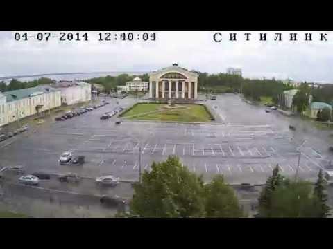 Площадь Кирова: год за минуту