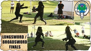 Longsword and Broadsword Finals at the VHG 2018