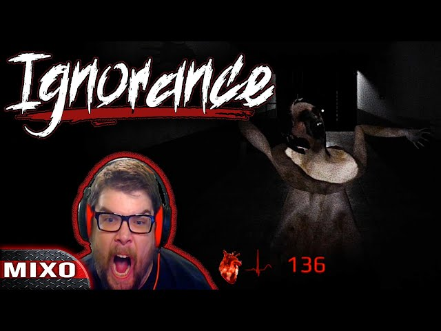 This Game Is Absolutely Terrifying | Ignorance Indie Horror Game MixoNat