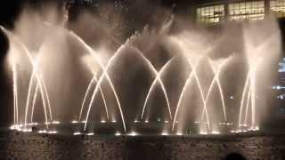Enta Omri (Um Kalthuom) Dubai Fountain - انت عمري (ام كلثوم) نافورة دبي مول #MyDubai 2014