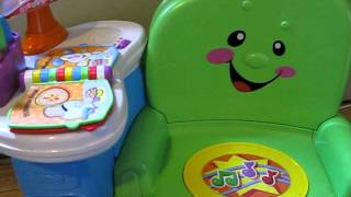 Fisher-Price Laugh & Learn Musical Activity Chair