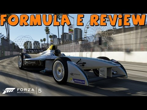 Forza 5 all electric formula e race car review and drift attempt