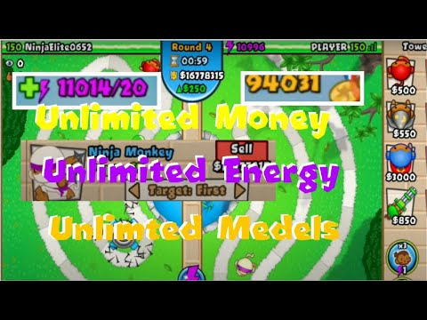 Bloons Td Battles Hack!!!!! Actually Works