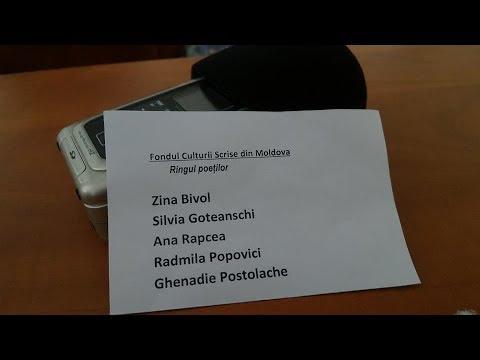 """Proiectul literar """"Ringul poeţilor"""" - Difuzat la Radio Moldova"""