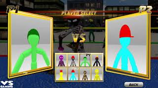 Stickman Wrestling : Stickman Fight Game 2018 - Android GamePlay#14 Full HD