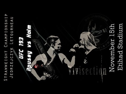 The MMA Vivisection - UFC 193: Rousey vs. Holm picks, odds, & analysis