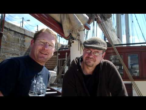 whisky review 207b - rum-chat with Captain Joe aboard the 'Antigua'