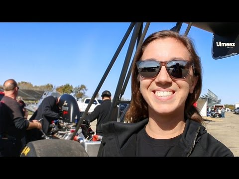 23 YR OLD OWNER DRIVER BUILDER! MARINA ANDERSON AFUEL TOP ALCOHOL DRAGSTER! FIRST TIME OUT!