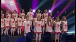 """DIE GROSSE CHANCE DER CHÖRE (Finale)  Kinderchor """"Calypso"""""""