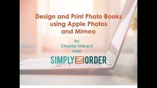 Mimeo Photobooks replacing Apple Photo Books