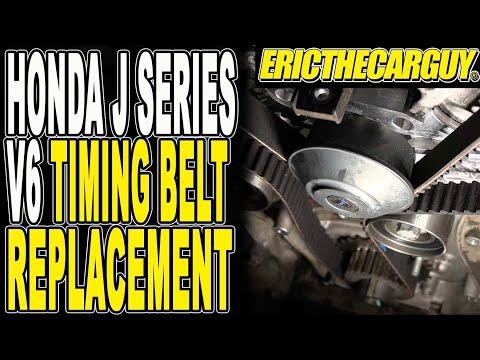 Honda J Series V6 Timing Belt Replacement