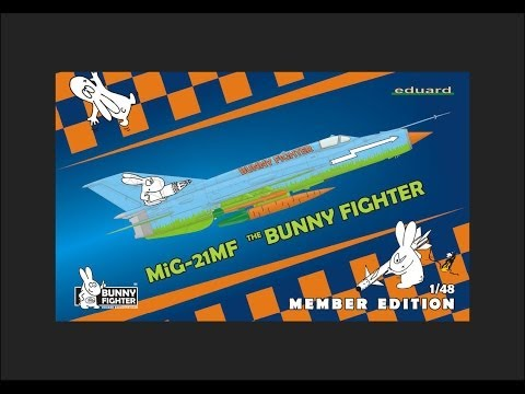 Eduard 1/48 MiG-21MF (Bunny Fighter Member...