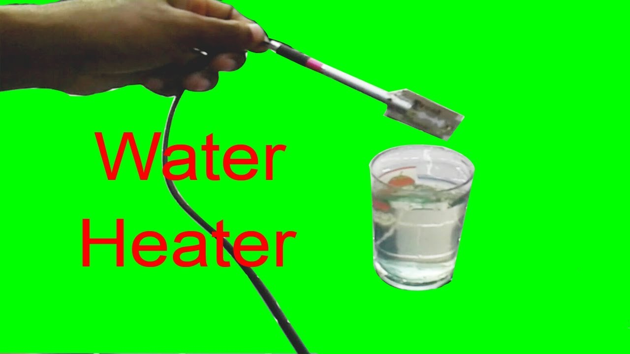 how to make simple water heater ! without electricity - youtube