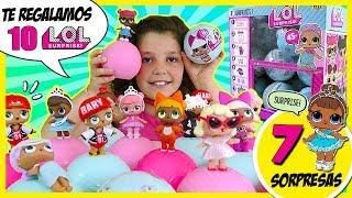¡¡NUEVAS muñecas LOL SURPRISE!! * 7 SORPRESAS en cada bola! *  SORTEO
