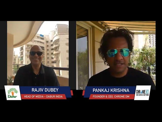 Chrome Talkies Season 2: Episode 7 - Rajiv Dubey | Head of Media - Dabur India