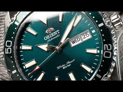 Orient Kamasu (Green Dial) In Macro | Just The Watch #3 | Watches In Macro
