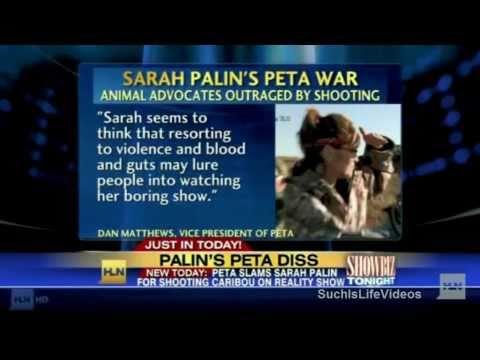 PETA Battles Sarah Palin Over Hunting Scene