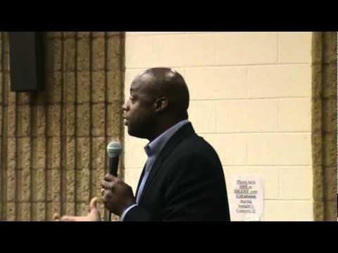Darrell Green, Guest Speaker at Caroline High School