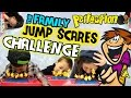 The JUMP SCARES Challenge!!  TRY NOT TO GET SCARED!  |  FUNNEL VISION FAMILY FUN GAME w/ Perfection