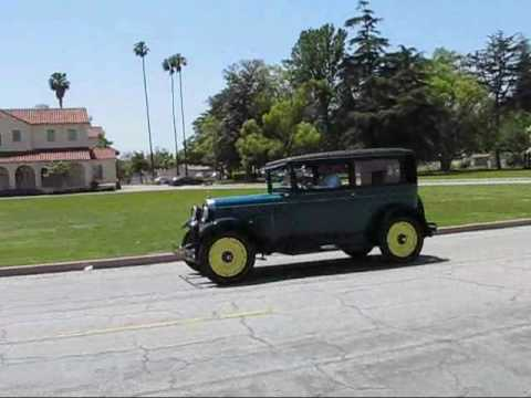 1928 Chevrolet National Series AB Test Drive - YouTube