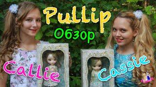 бЛИЗНЯШКИ ПУЛЛИП??)) Кэлли и Кэйси  Pullip Callie & Cassie Doll обзор и распаковка на русском Review