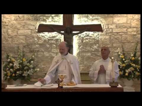 Mass at St John Maron Church Orange, CA