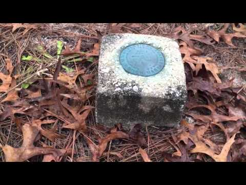 1951 U.S. Geological Survey Benchmark at Citrus Wildlife Ma