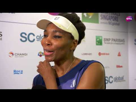 My Performance | Venus Williams defeats Caroline Garcia | 2017 WTA Finals Singapore