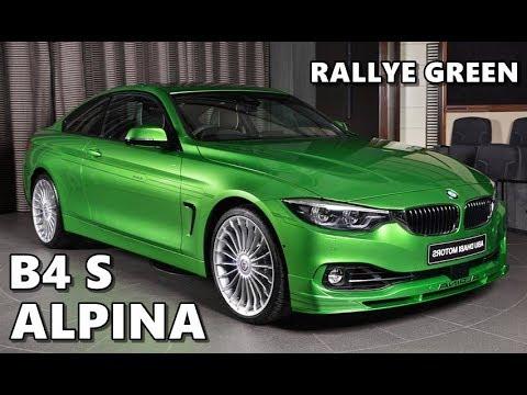 BMW Alpina B4 S Individual in Rallye Green
