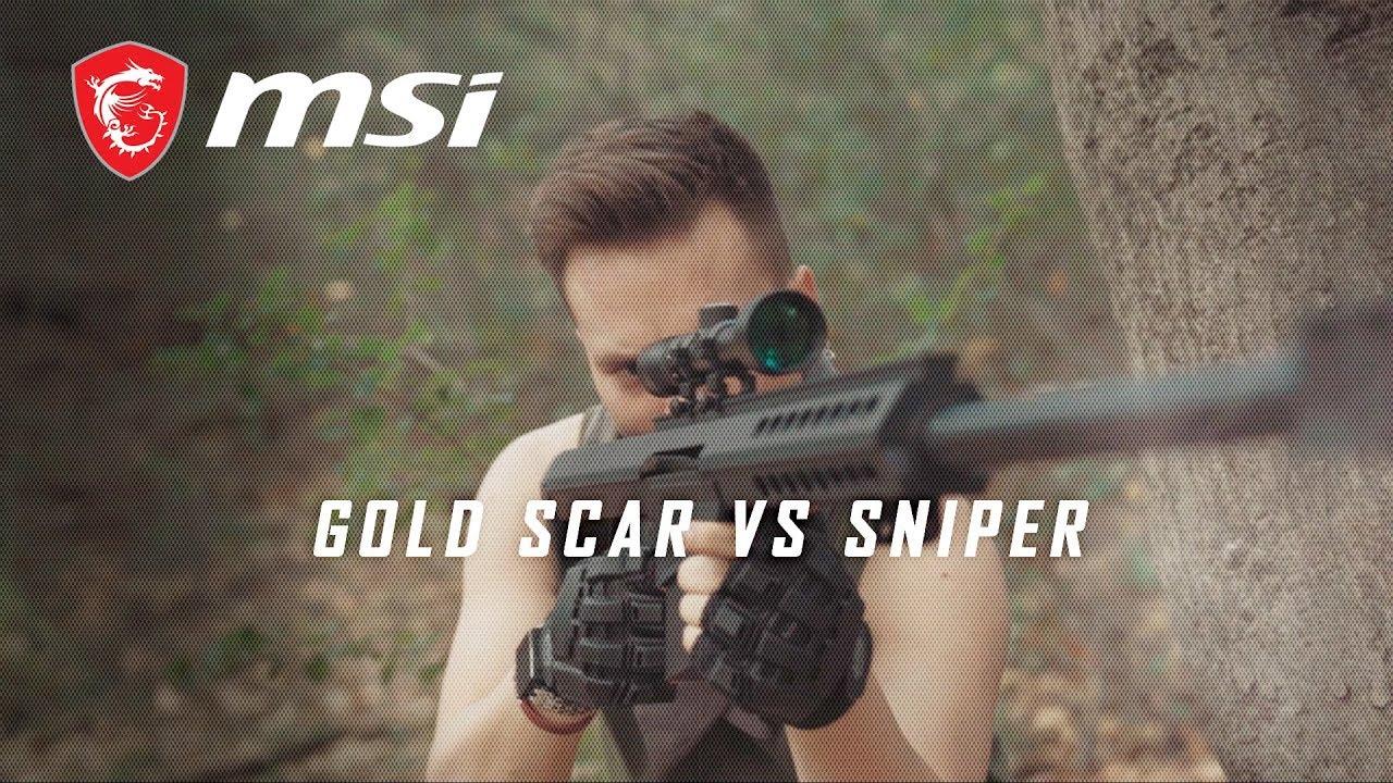 #BTRThinkTwice: Gold Scar vs Sniper│MSI