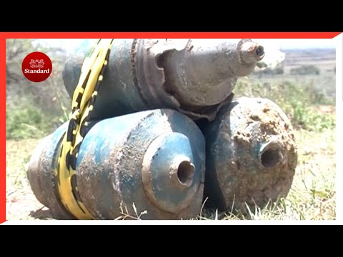 Ballistics squad detonates bomb, collects six others abandoned by military in Samburu county