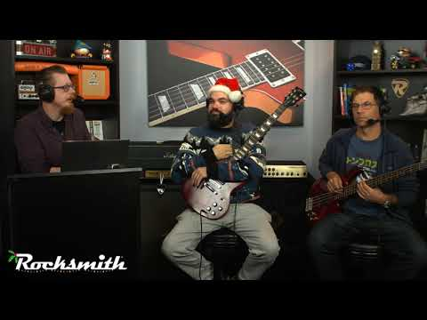 Rocksmith Remastered -- Rocksmith Holiday Special 2018 -- Live from Ubisoft Studio SF