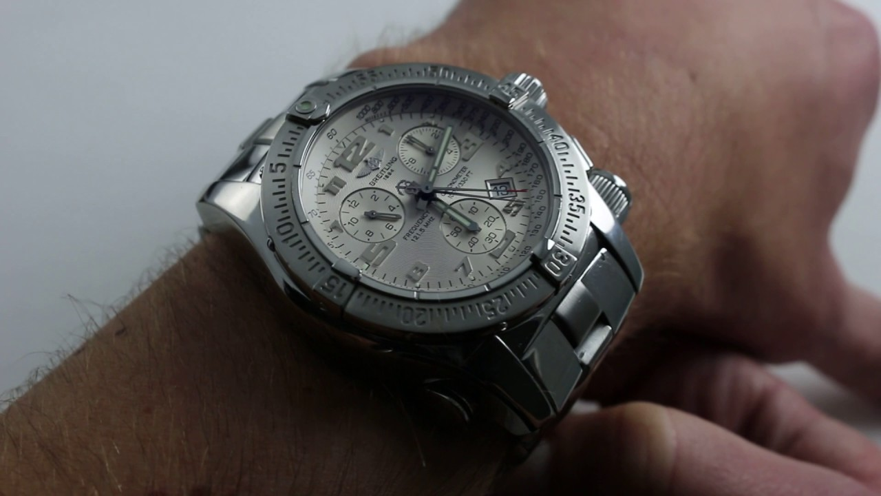breitling emergency watch review
