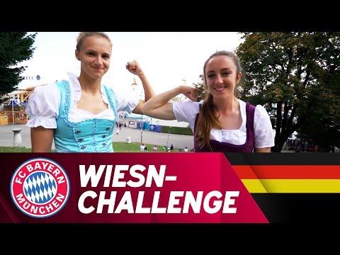 WiesnChallenge mit Miedema & Evans  FCB Frauen