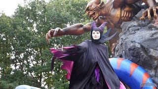 The Maleficent Disney Villains Promenade Halloween 2014 Disneyland Paris