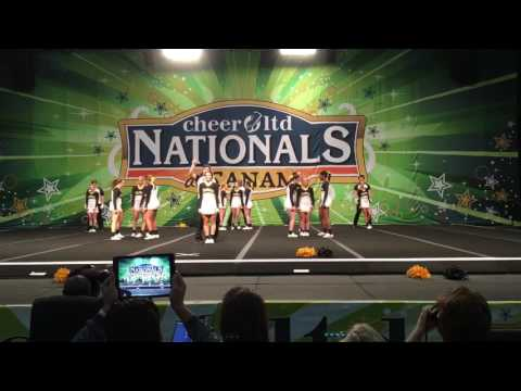 Appalachian State Cheerleading Canam Nationals 2017