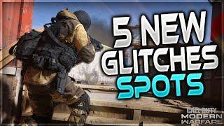 CoD Modern Warfare Glitches: 5 *NEW* Insane Glitches,Spots,Tricks - MW Glitches